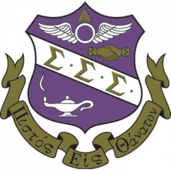 Sigma Sigma Sigma crest